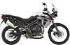 Tiger 800XC MK2 Crystal White 2016 RHS