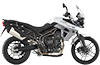 Tiger 800XR MK2 Crystal White 2017 RHS