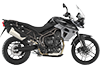 Tiger 800XR MK2 Phantom Black 2017 RHS