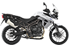 Tiger 800XRx MK2 Crystal White 2017 RHS