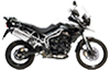 Tiger 800XC MK1 Crystal White 2011