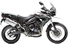 Tiger 800XC MK1 Crystal White 2012