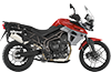 Tiger 800XRt MK2 Cranberry Red 2017 RHS