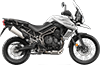 Tiger 800XCa MK3 Pure White 2019 RHS