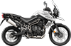 Tiger 800XCx MK3 Crystal White 2018 RHS
